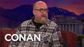 Brian Posehn & His Wife Secretly Go To Disneyland Without Their Son  - CONAN on TBS - Video Youtube