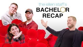 Extended Cut - The Ellen Staff's 'Bachelor Recap' with Special Guest Colton Underwood!