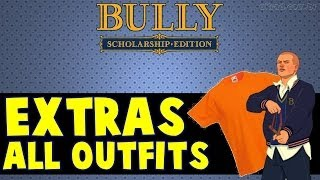 Bully EXTRAS: All Outfits/Todas Outfits [Scholarship Edition]