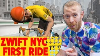 ZWIFT NEW YORK update: First Look