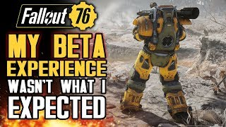 My Fallout 76 Beta Experience Wasn't What I Expected. Here's What Happened