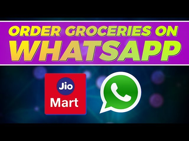 JioMart WhatsApp Order Booking Service Launched: How to Order ...