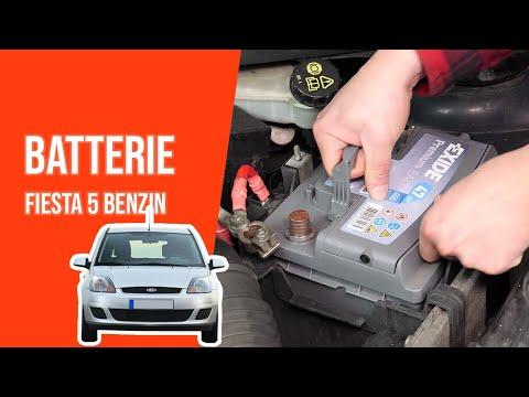 Batterie wechseln FIESTA 5 1.3 Duratec 🔋