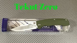 Tekut Zero knife budget knife made in China
