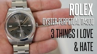 ROLEX Oyster Perpetual 39mm - 3 Things I LOVE & HATE