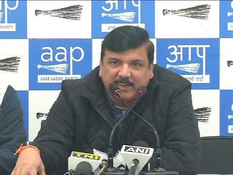 Rajya Sabha MP Sanjay Singh & Delhi MLA's brief media on how Modi govt cheated 1984 riots victims