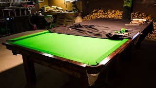 How I Built My Snooker Table