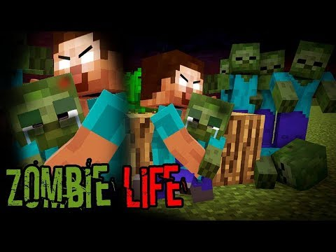Monster School : Enderman's Life Part 3 with ZOMBIE's Life - BEST Minecraft Animation
