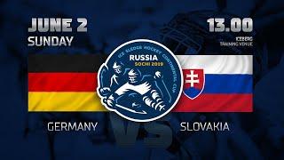 Германия - Словакия. Следж-хоккей.