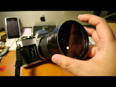 Kiwi Lens Adaptor Review Canon FD to M43