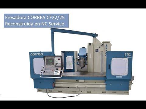 Fresadora CORREA CF22/25 reconstruida por NC Service