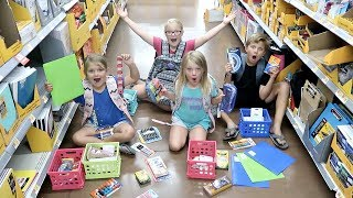 Back to SCHOOL Shopping SPREE for 5 KIDS!