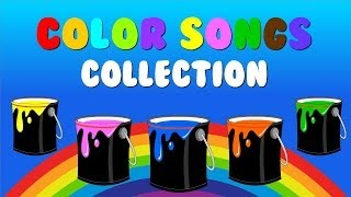 """Color Songs Collection Vol. 1"" - Learn Colors, Sing Colors Nursery Rhymes"