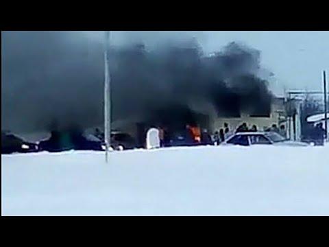 В кафе под Саратовом произошел взрыв, есть пострадавшие
