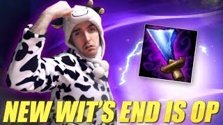 THE NEW WIT'S END IS OP ON MASTER YI - COWSEP