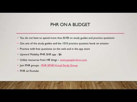 PHR - HRCI Exam Overview / PHR Resources / PHR Test - YouTube