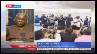 James Kamau adresses the unending stalemate between doctors and the Government