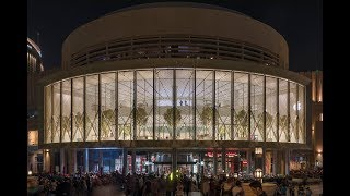 Apple Dubai Mall - The World's Largest Kinetic Art Installations
