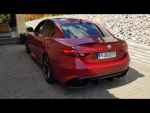 Alfa-Romeo Giulia Quadrifoglio 2.9 DOWNPIPES