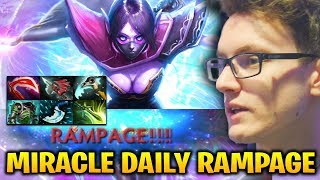 Miracle Daily RAMPGE with Templar Assassin Dota 2 7.17