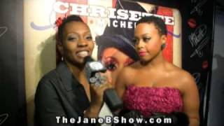 "Chrisette Michele ""Let Freedom Reign""  Album Release - The Jane B. Show!"