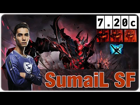 Shadow Fiend MID SumaiL, Yasha & Kaya Best Item for SF Dota 7.20c