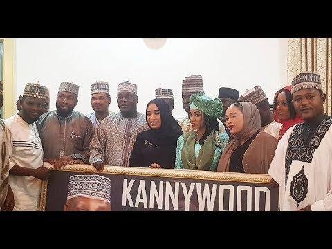 Ziyarar da kannywood suka kaiwa Atiku Abubakar