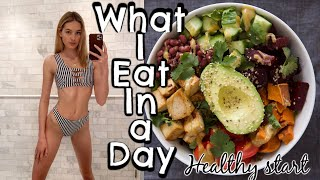 What I Eat In A Day As A Model - Getting Healthy