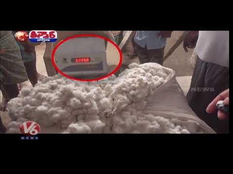 నకిలి తుకంతో రైతులు మోసం చేస్తున్న పత్తి కొనుగోలు దారులు | Teenmaar News | V6 Telugu News
