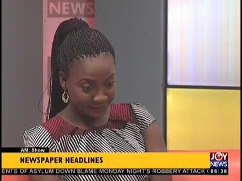 Government Will Promote Inclusive Society - AM Show Headlines on JoyNews (22-8-18)