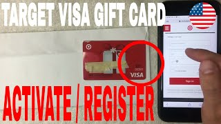 ✅  How To Activate And Register Target Visa Debit Gift Card 🔴