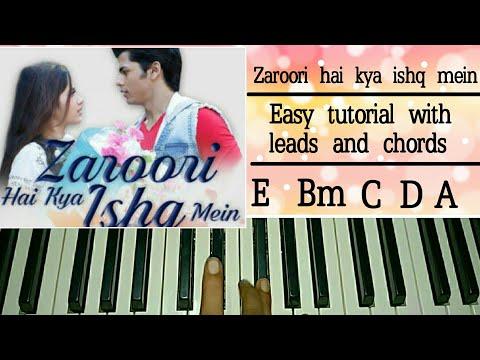 Zaroori Hai Kya Ishq Mein | Papon, Meet Bros | Easy Piano Tutorial | Jannat Zubair, Siddharth Nigam