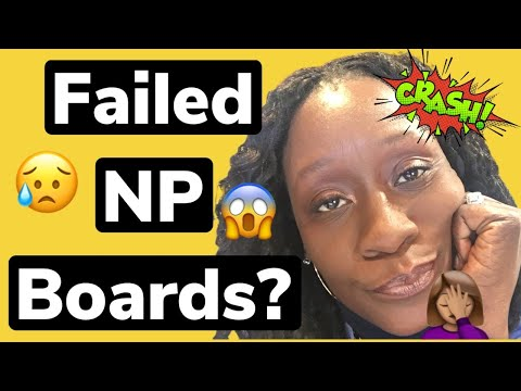Failed The FNP Board EXAM? Now What? Motivational Video The ...