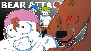 DanPlan Animated | Can You Survive a Bear Attack?