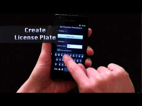 Video of 3D Porsche Panamera - FREE