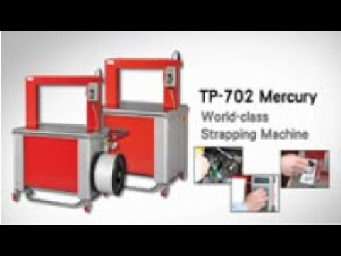 Bundle Strapping Machine | TP-702 From Trio Packaging Systems