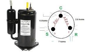 Refrigeración - Compresor - Como conectarlo y probarlo.