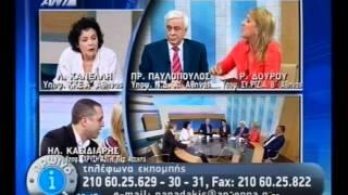 """Ως """"βούδας"""" χαρακτηρίζεται πλέον και ο Προκόπης Παυλόπουλος. (από Khan, 13/06/12)"""
