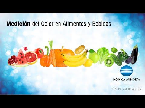 Medición del color en alimentos y bebidas