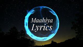 Maahiya Lyrics Video |Oru Adaar Love|IRFU SALU - YouTube
