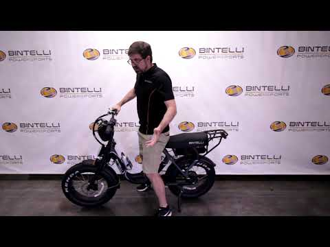 Bintelli  Fusion Fat Tire Electric Bicycle in Forest Lake, Minnesota - Video 1