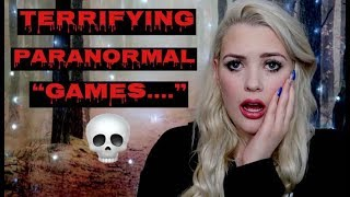 3 Paranormal Games You Should NEVER PLAY & Why.....