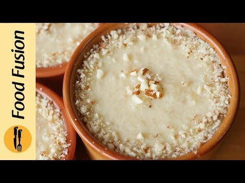 Rice Kheer Recipe by Food Fusion