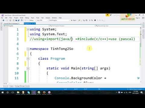 VD07-Cú pháp chương trình C#
