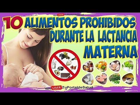 que verduras evitar durante la lactancia