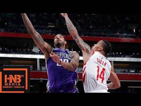Houston Rockets vs Sacramento Kings Full Game Highlights / April 11 / 2017-18 NBA Season