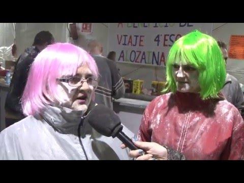 El Carnaval de la Harina en Alozaina