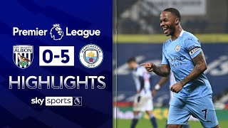 FIVE star Man City ease past West Brom! | West Brom 0-5 Man City | Premier League Highlights