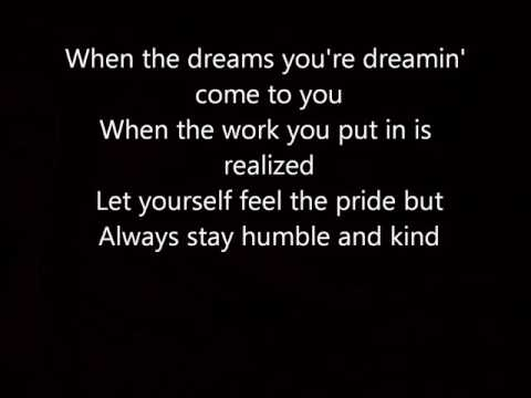 Humble and Kind Tim McGraw with  Lyrics