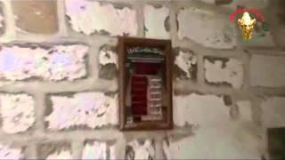 preview picture of video 'Bosra état des lieux de la mosquée Ibn Bazin بصرى اثار الدمار مسجد ابن بازين'